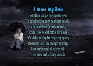 memorial quotes and poems shared death of a loved one quotes poems and ...