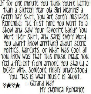 All Graphics » gerard way quotes