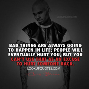Chris Brown Quotes And Sayings About Picture Quotes