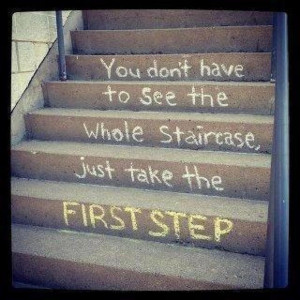Addiction Recovery – take it one step at a time.