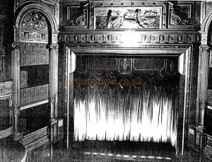 The auditorium and stage of the Gaiety Theatre, Manchester - Courtesy ...
