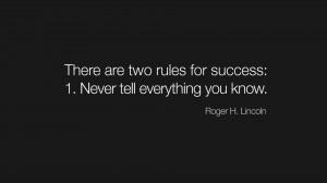 人生哲理带字图片- 有两个成功法则:第一,永远不要 ...
