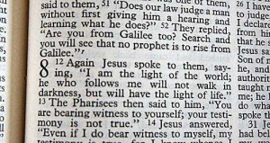 went looking for this passage in my Bible (Revised Standard Edition ...