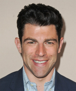 Max Greenfield - Hairstyle