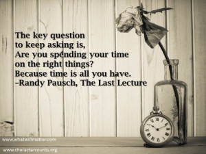 "Post image for QUOTE & POSTER: ""The key question to keep asking is ..."