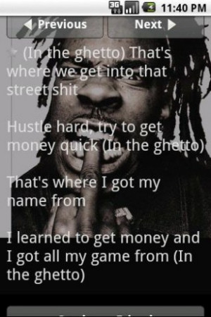 View bigger - Busta Rhymes Quotes for Android screenshot