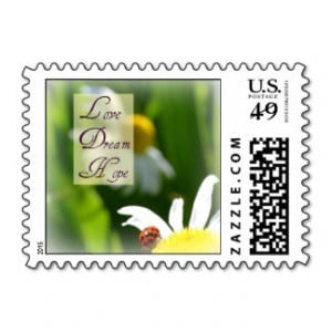 Inspirational Quotes Postage Stamps