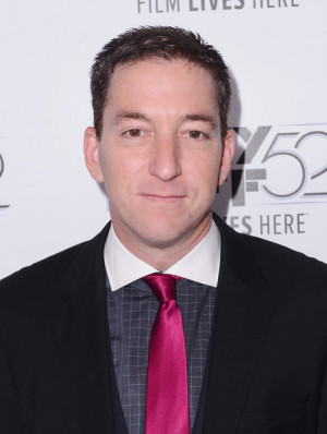Glenn Greenwald Attorney author journalist Glenn Greenwald attends The