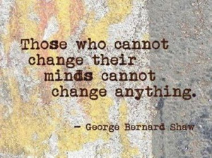 All about Change... Change is good!