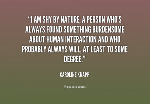 Shy Person Quotes Preview quote