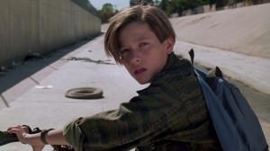 Edward Furlong as John Connor in Terminator 2 - Judgment Day (1991 ...