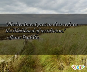 Recidivism Quotes