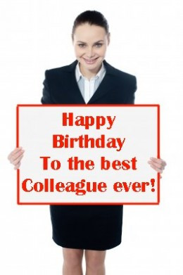 ... colleague: Messages, greeting and quotes for a coworker's birthday