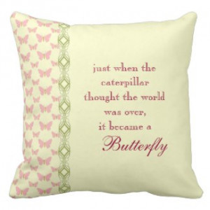 butterfly quote pillow by quotelife browse quotes pillows