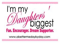 Proud of My Daughter Quotes | SO proud to be my girls' mom! | A ...