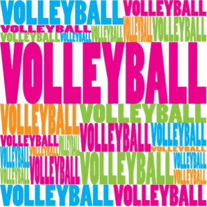 love volleyball backgrounds