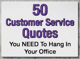 Customer Service Quotes To Serve By