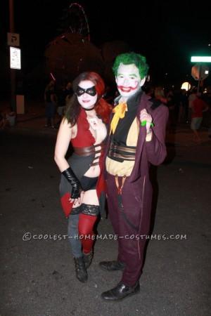 Sexy Harley Quinn Halloween Costume
