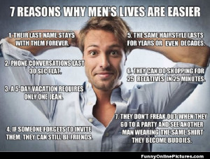 Do men really have easier lives than women? Here are 7 reasons why ...