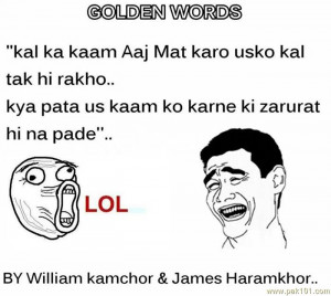Golden Words By Haramkhor And Kaamchor