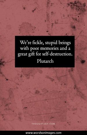 Self destruction quotes