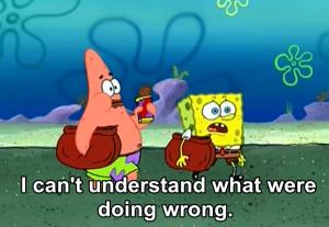 Funny Spongebob And Patrick Captions Lol funny spongebob spongebob