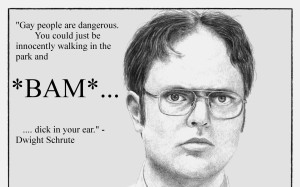 1680x1050 quotes gay funny dwight schrute 2408x2400 wallpaper download