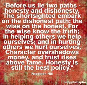 Honesty quote via HappytoInspire and www.TheRabbitHoleRunsDeep.Blog ...