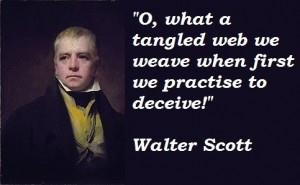 Walter scott famous quotes 1
