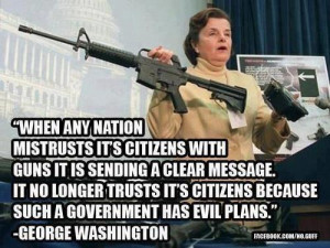 ... of this quote equating government gun control with evil intentions