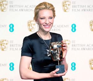 Cate Blanchett dedicates BAFTA Award to Philip Seymour Hoffman