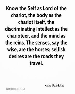 The Chariot Quotes