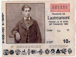 Comte de Lautr amont pen name for Isadore Lucsen Ducasse