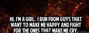Am A Girl Facebook Covers
