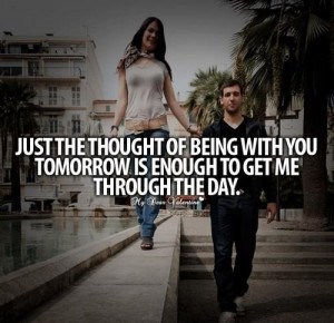 Cute being in love quotes