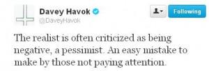Davey Havok quote :)