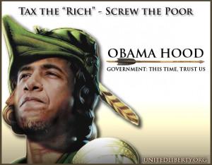 Obama's Robin Hood Economics