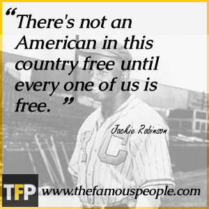 Famous Quotes About Jackie Robinson