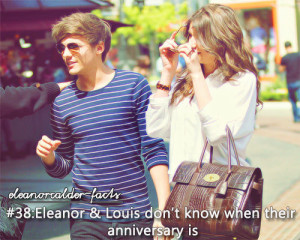 ... image include: louis tomlinson, one direction, couple, eleanor and fat