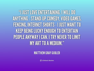 Matthew Gray Gubler Quotes On Love