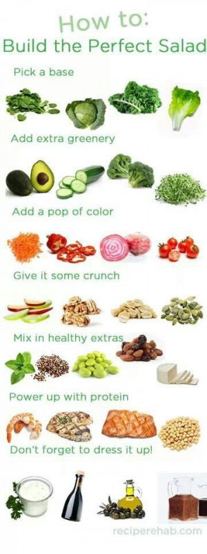 perfect salad combination