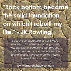 Drug-Rehab-Quotes-Rock-Bottom