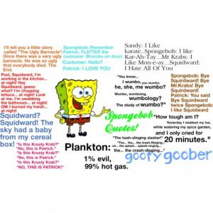 Spongebob Quotes!!!