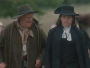 John Hale in the movie, The Crucible, Right)