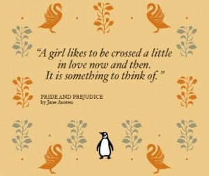Pride and prejudice love quotes from book