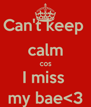Miss My BAE Meme
