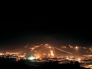 Glamis-Competition Hill at Night