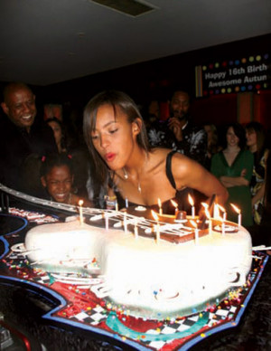 Forest Whitaker's Stepdaughter Autumn Whitaker Turns Sixteen Photo