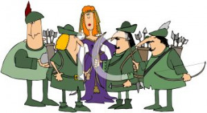 ... with Robin Hood and His Merry Men clipart image Cartoon Robin Hood Hat