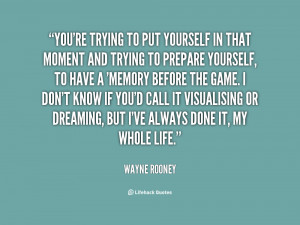 Wayne Rooney Quotes Motivational